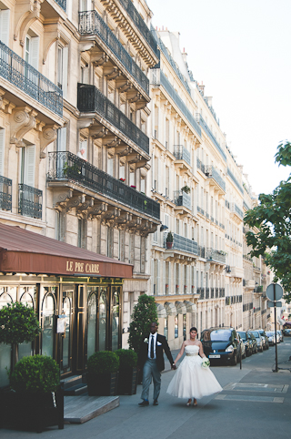 streets of paris wedding