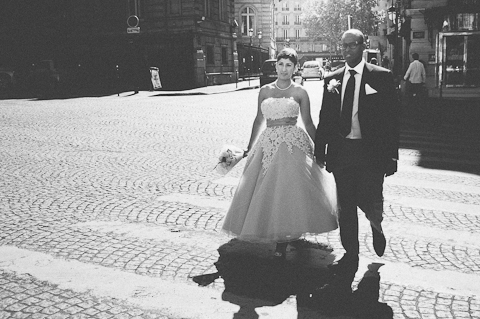 vintage paris wedding