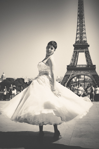 vintage bridal paris