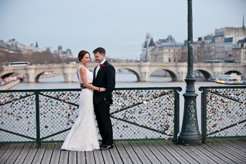 wedding bridge paris