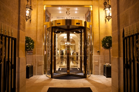 wedding hotel crillion paris