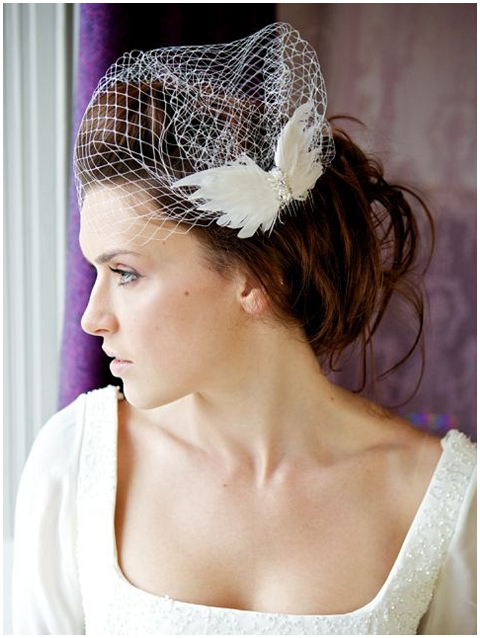 bridal competition veil