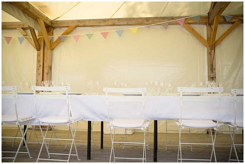 fete wedding table