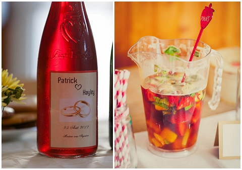 french wedding drinks