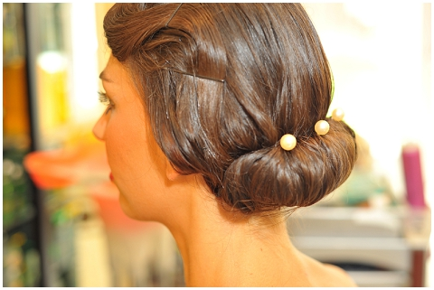 french wedding hair