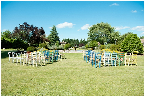 outdoor wedding  france