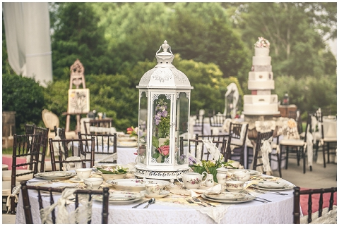Secret Garden Wedding Reception Inspiration