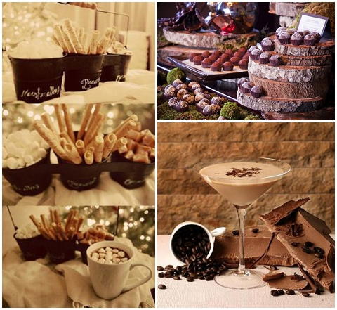 chocolate wedding food