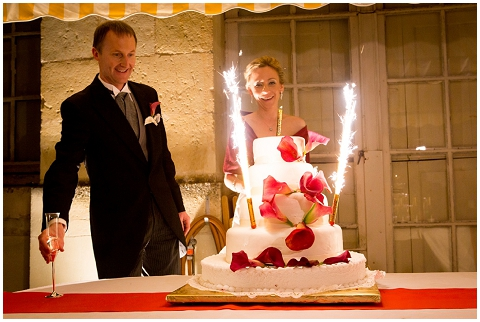 loire valley wedding cake