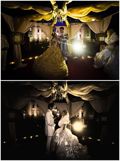 beauty and beast wedding theme