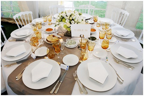chic table design