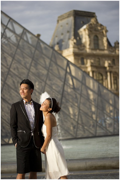 louvre wedding