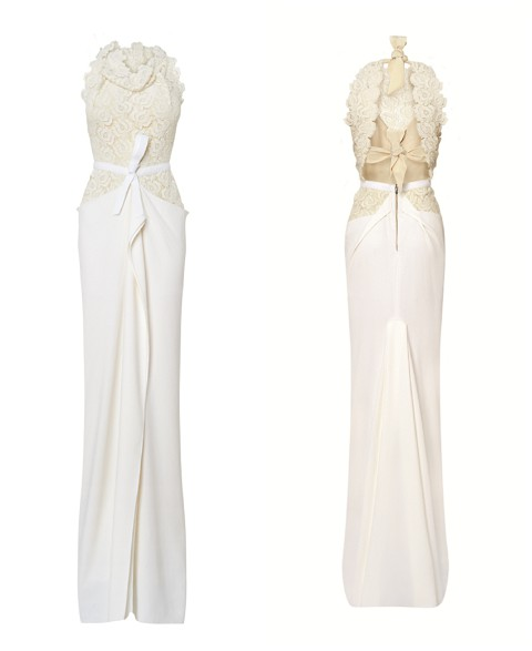 Roland Mouret Wedding Dress 53 Images Roland Mouret Jansen Stretch Crepe Gown In White