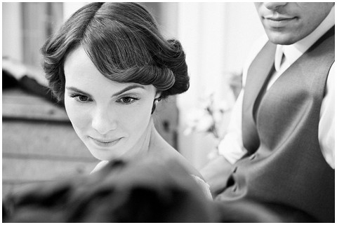 Events with love vintage bridal hair