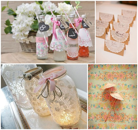 doily wedding details