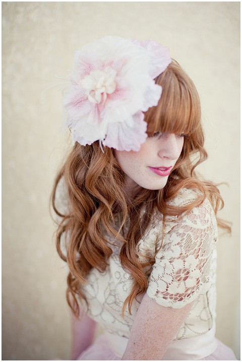 flower bridal headdress