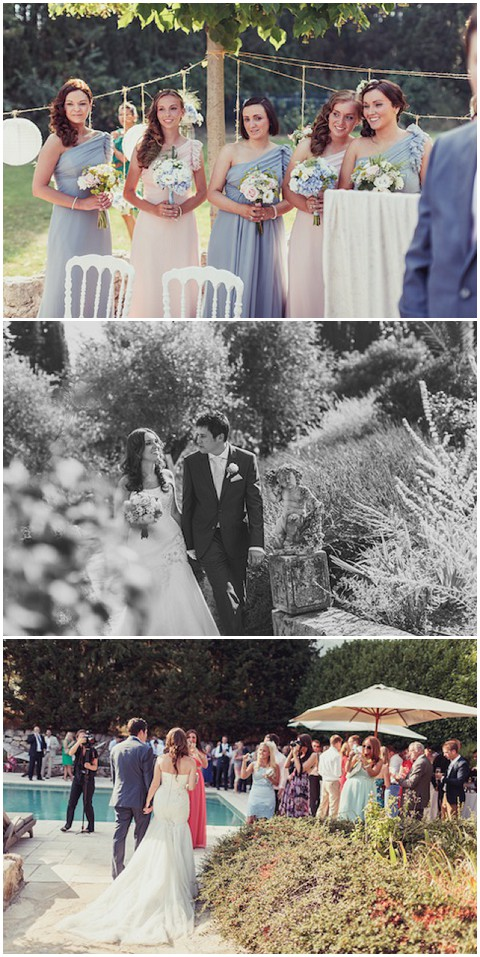 lavender and rose wedding provence