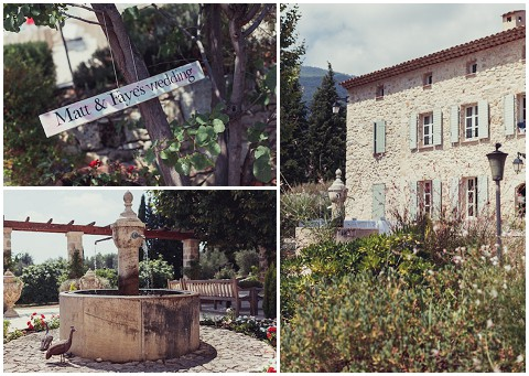 lavender and rose wedding venue provence
