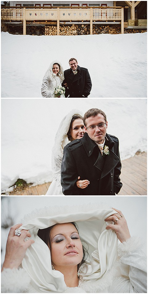 snowy wedding Marc daviet
