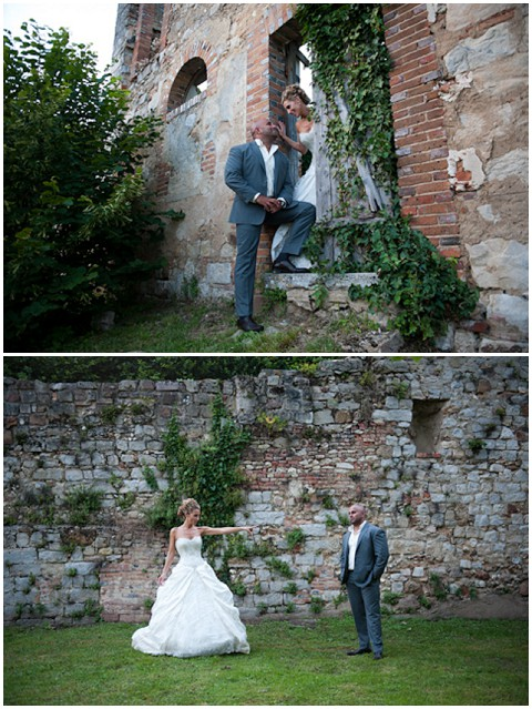 wedding photography ruins