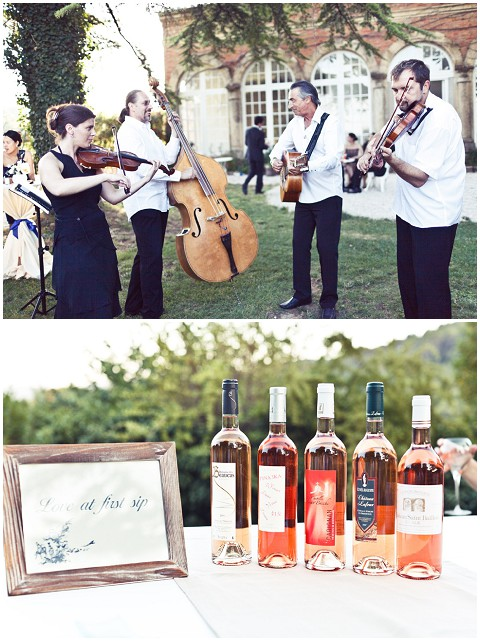 wedding wine tasting