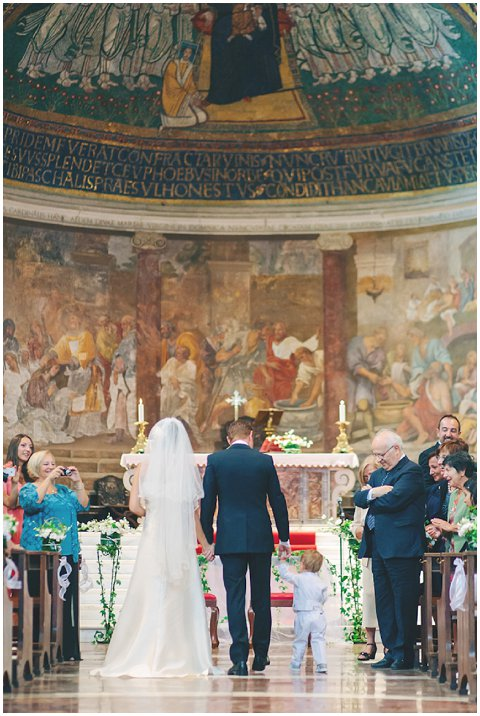 italy wedding church
