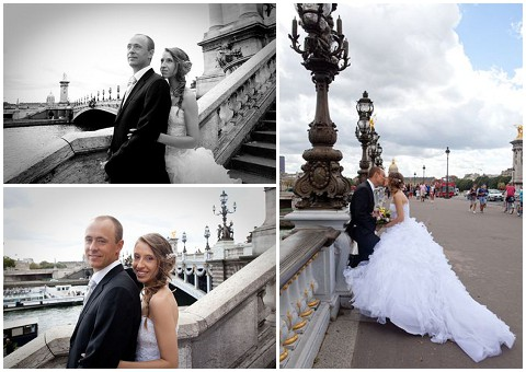 paris wedding celebrations