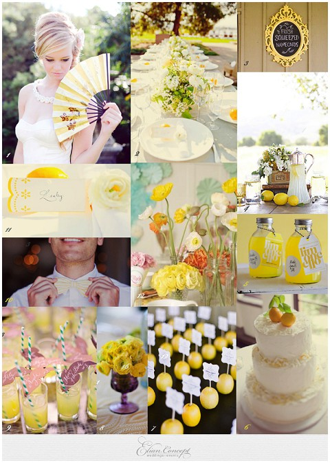 sunnywedding lemon ideas