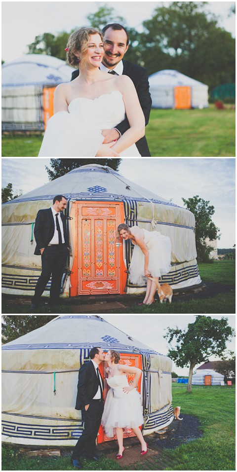yurt wedding paris