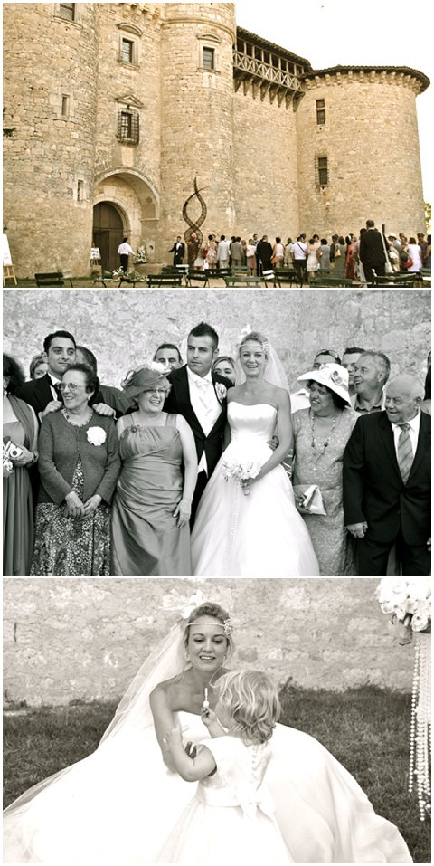 Chateau du Mauriac wedding