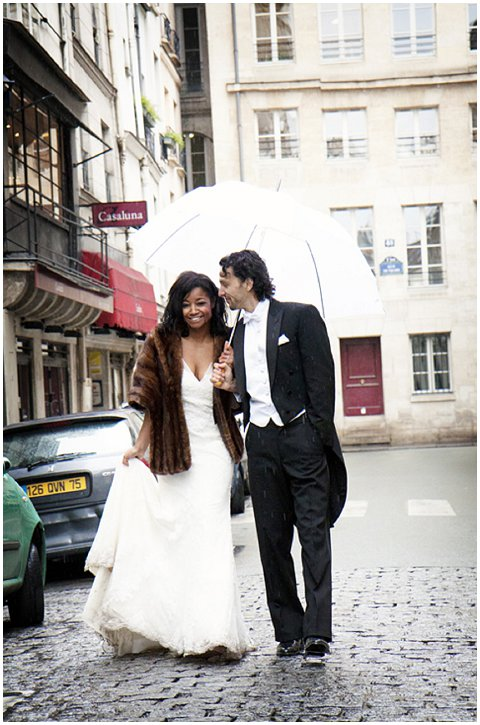 umbrella wedding