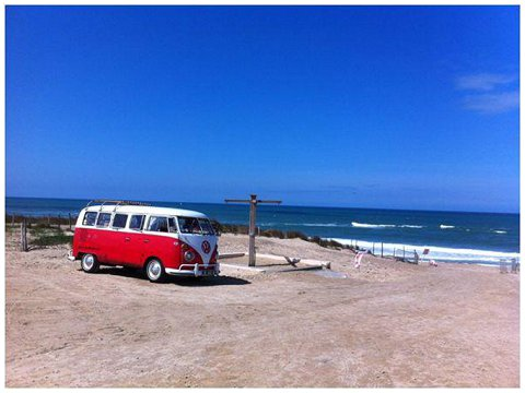 honeymoon vw camper