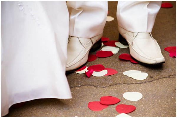 2 day wedding across 2 countries for Canape shoes italy