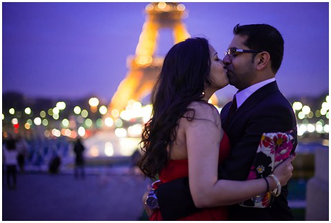 paris eiffel tower engagement