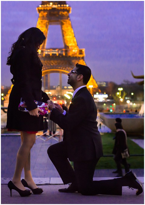 Eiffel tower proposal