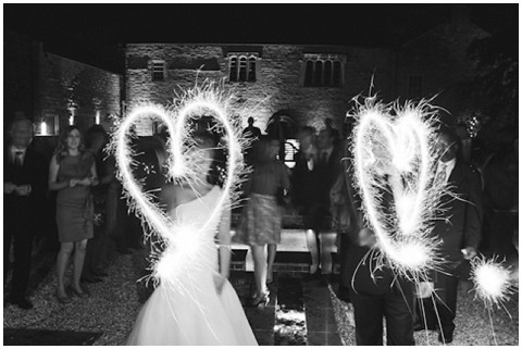 sparklers wedding