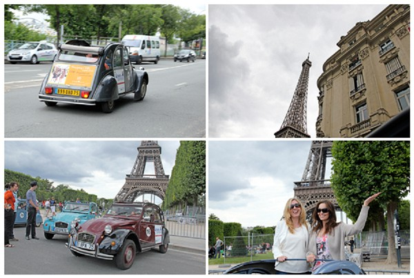 tour paris in a 2cv and see paris from a different angle