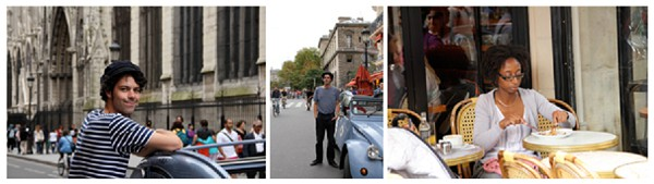 2cv tour Paris