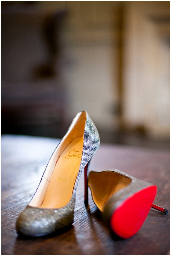 Louboutins wedding shoes