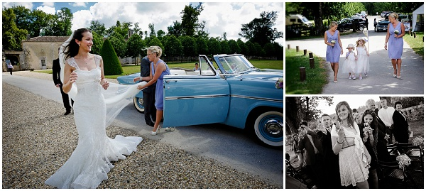 charente wedding vintagecar