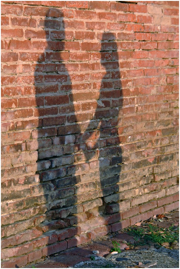 couple shadow wall