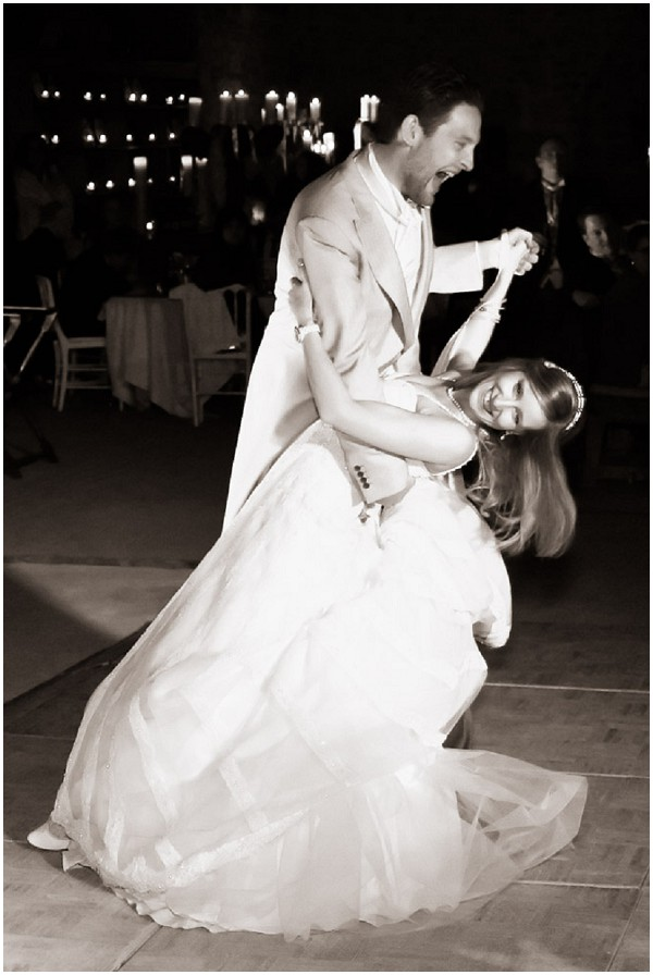 dramatic first dance