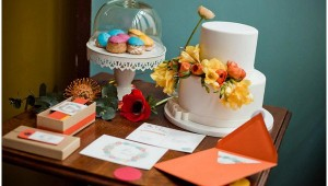 floral wedding ideas desserttable