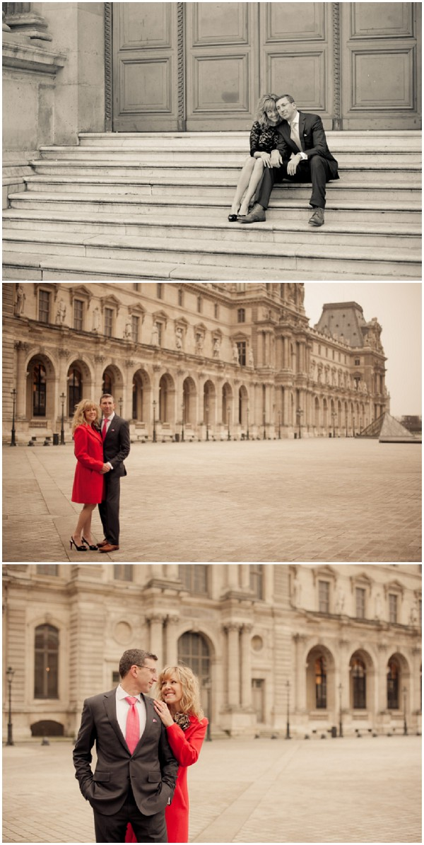louvre engagement shoot