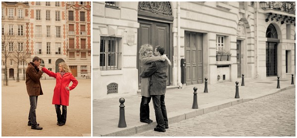 love on streets of paris