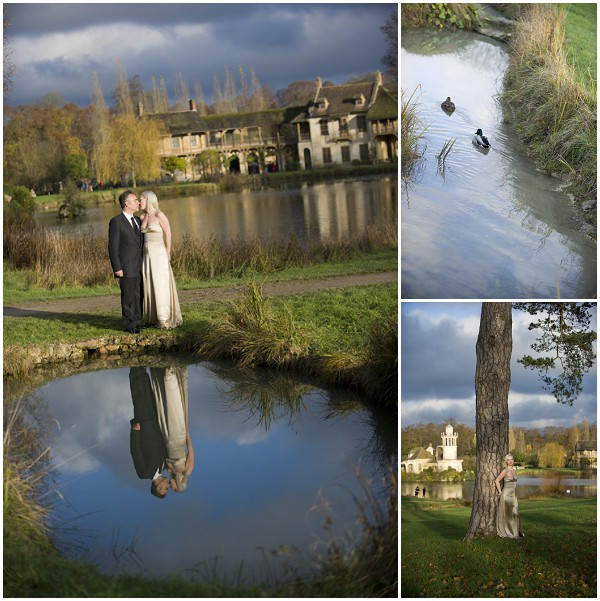 scenic wedding setting france