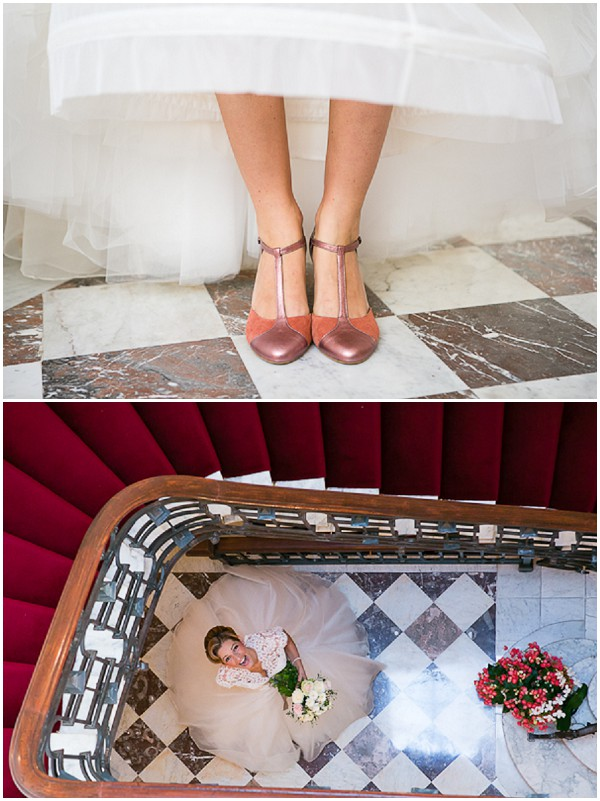 wedding tiled floor