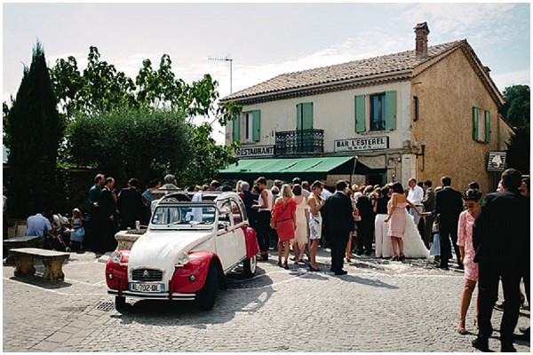 2cv wedding car