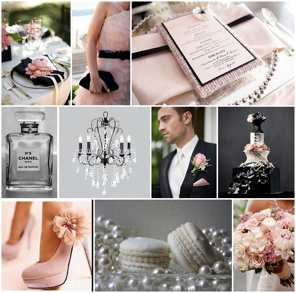 Coco chanel wedding theme