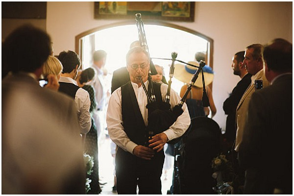 bagpipe wedding